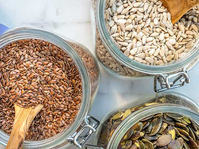 Getreide, Honig und Konfitüren